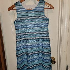 Wonder Nation Girls Dress Blue Sleeveless